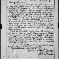 Alexander, William Patterson - Missionary Letters - 1840-1842 - To Chamberlain and Hall from Waioli, Kauai