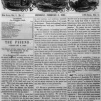 The Friend - 1863.02.02 - Newspaper