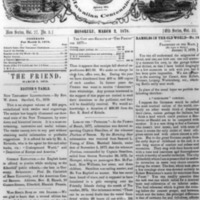 The Friend - 1878.03.02 - Newspaper