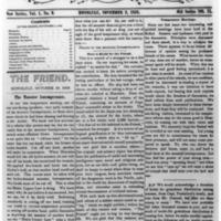 The Friend - 1852.11.02 - Newspaper
