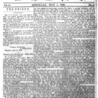 The Friend - 1848.05.01 - Newspaper