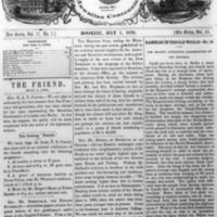 The Friend - 1878.07.01 - Newspaper