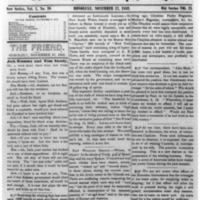 The Friend - 1852.11.17 - Newspaper