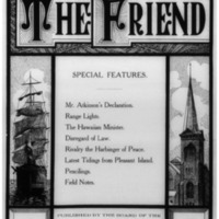 The Friend - 1908.04 - Newspaper