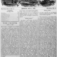 The Friend - 1863.06.01 - Newspaper