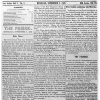 The Friend - 1852.09.01 - Newspaper