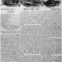 The Friend - 1863.04.01 - Newspaper