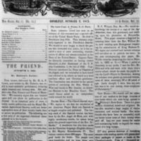 The Friend - 1863.10.02 - Newspaper