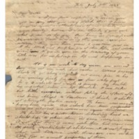 Wilcox, Abner and Lucy E. (Hart) - Letters written to Maria Patton Chamberlain - 1838.07.09 - Wilcox, Lucy (Hilo)