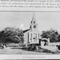 N-0013 - Kawaiahao Church, 1870s. Photograph.