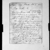 Goodrich, Joseph - Missionary Letters - 1825-1833 - to Ruggles, Samuel