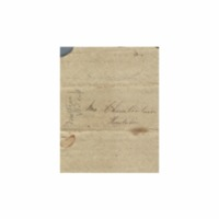 Wilcox, Abner and Lucy E. (Hart) - Letters written to Maria Patton Chamberlain - 1838.10.10 - Wilcox, Lucy (Hilo)