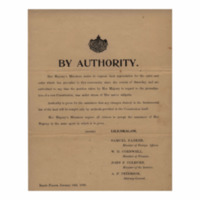 Kingdom of Hawaii - 1893.01.16 - By Authority