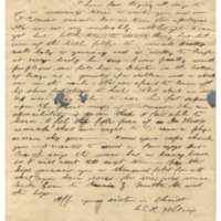 Wilcox, Abner and Lucy E. (Hart) - Letters written to Maria Patton Chamberlain - 1844 - Wilcox, Lucy [Waialua]