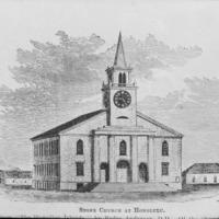 N-0012 - Kawaiahao Church, fifth, 1863. Photograph.